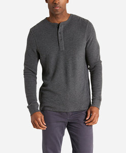 Thermal Henley - Heather Charcoal