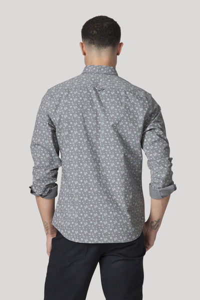 Tivoli Shirt - Heather Charcoal