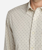 Trafalgar Square Dobby Shirt - Irish Cream