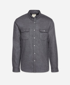 Upstate Shirt - Heather Charcoal