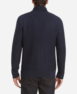 Wales Cardigan Sweater - Royal Navy