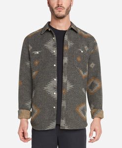 Warrior Shirt Jacket - Heather Charcoal