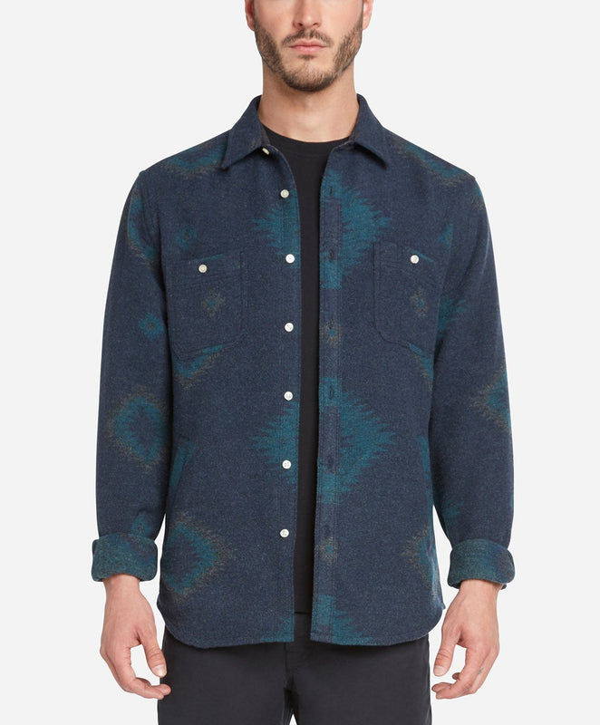 Warrior Shirt Jacket - Navy