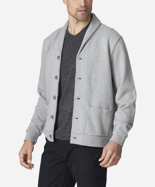Waterloo Cardigan - Heather Grey