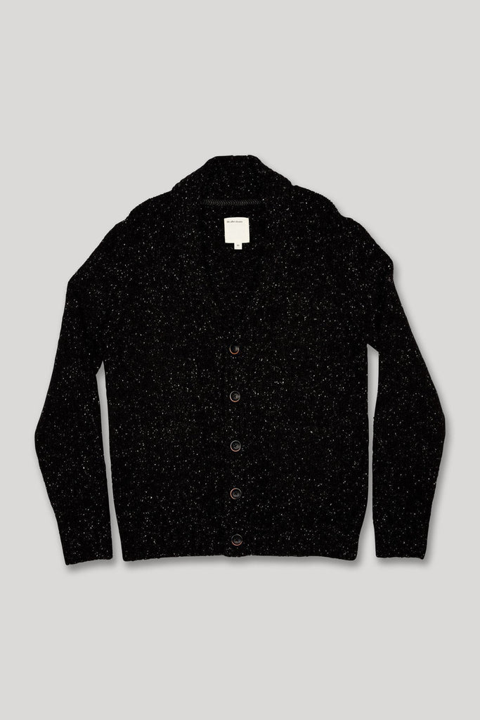Westwick Cardigan - Heather Black