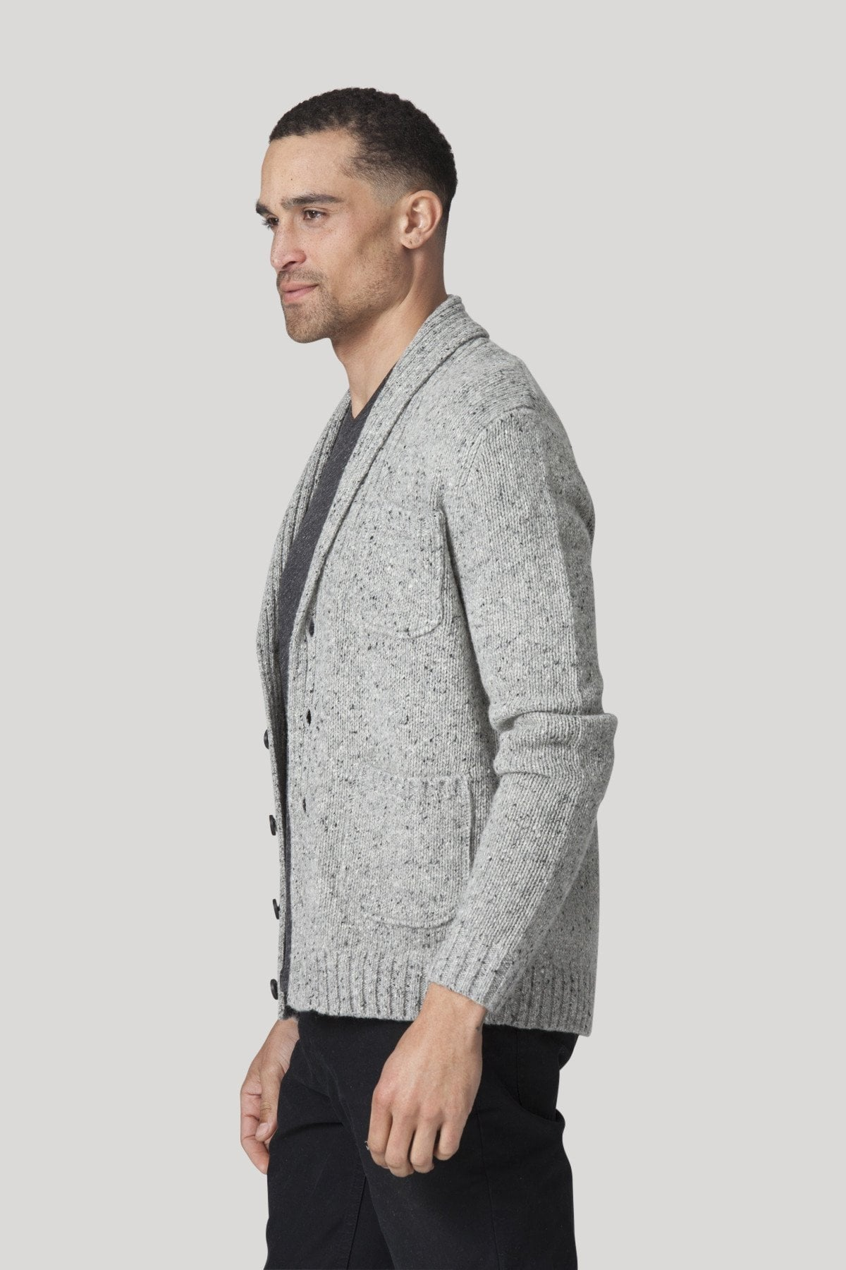 Westwick Cardigan - Heather Grey
