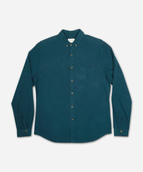 Windom Oxford Shirt - Evergreen