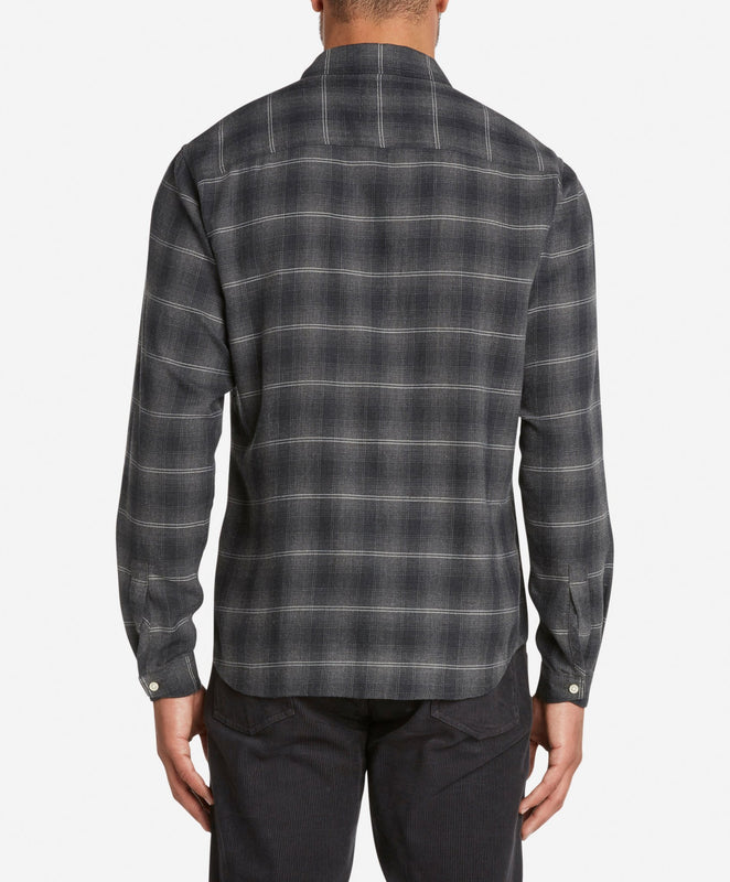Wonderland Flannel Shirt  -  Black