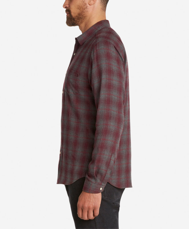 Wonderland Flannel Shirt  -  Oxblood