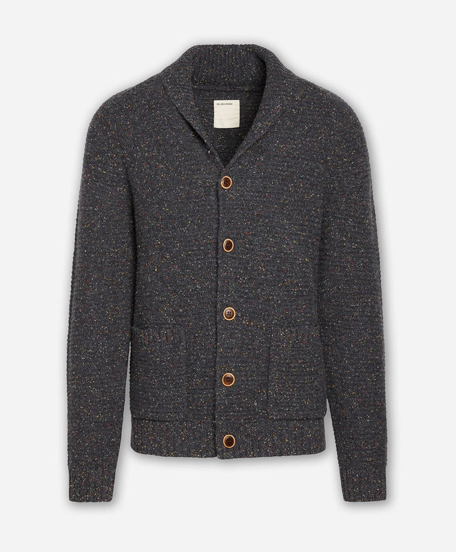Woodland Cardigan Sweater - Heather Charcoal