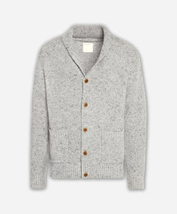 Woodland Cardigan Sweater - Heather Grey