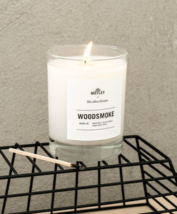 The Motley + LAD Candle - Woodsmoke