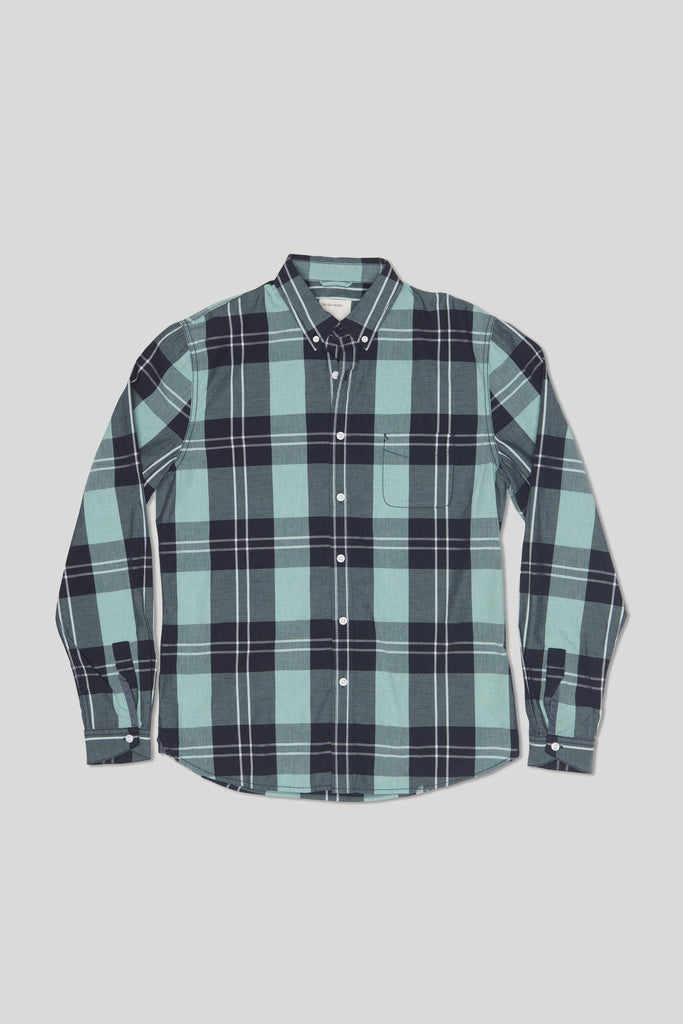 Beacon Shirt - Heather Mineral Water
