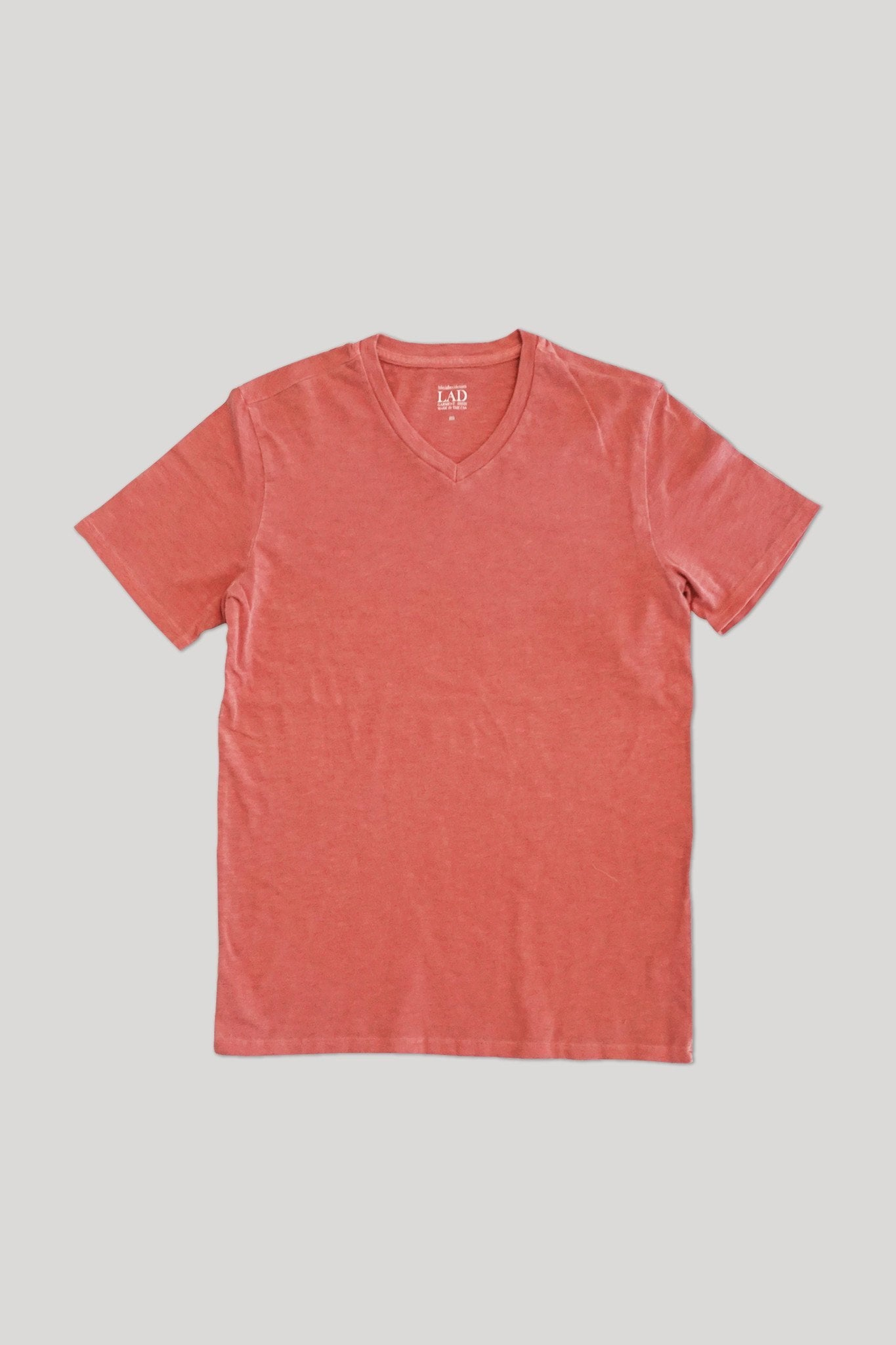 Club V-Neck Tee - Ahi