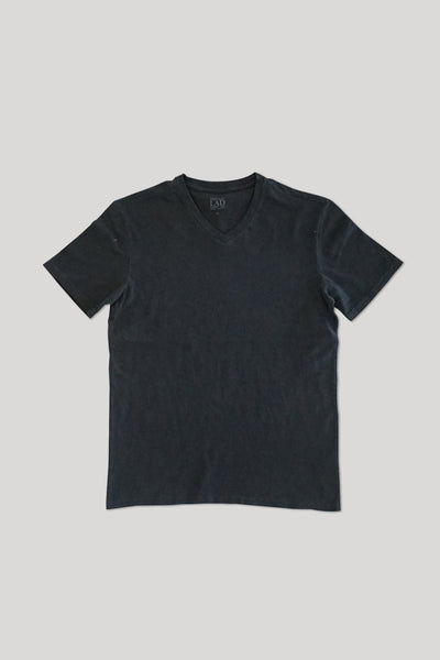 Club V-Neck Tee - Black