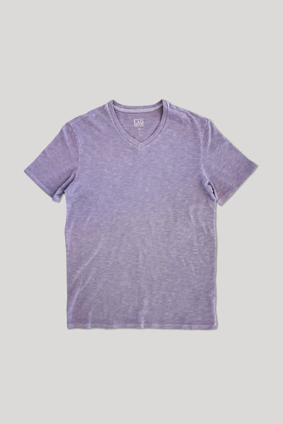 Club V-Neck Tee - Lavender