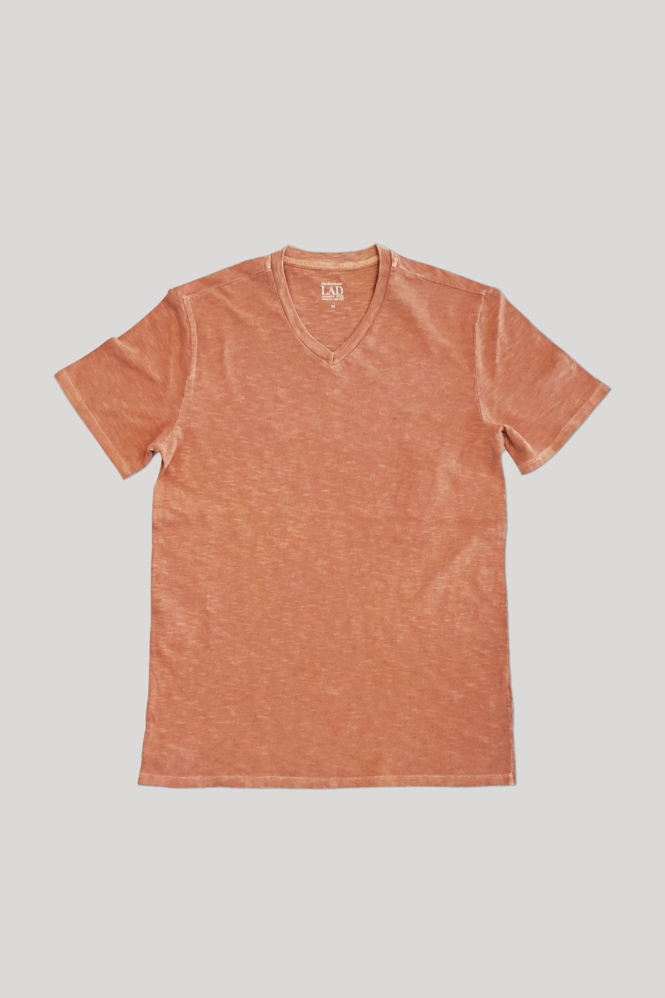 Club V-Neck Tee - Melon