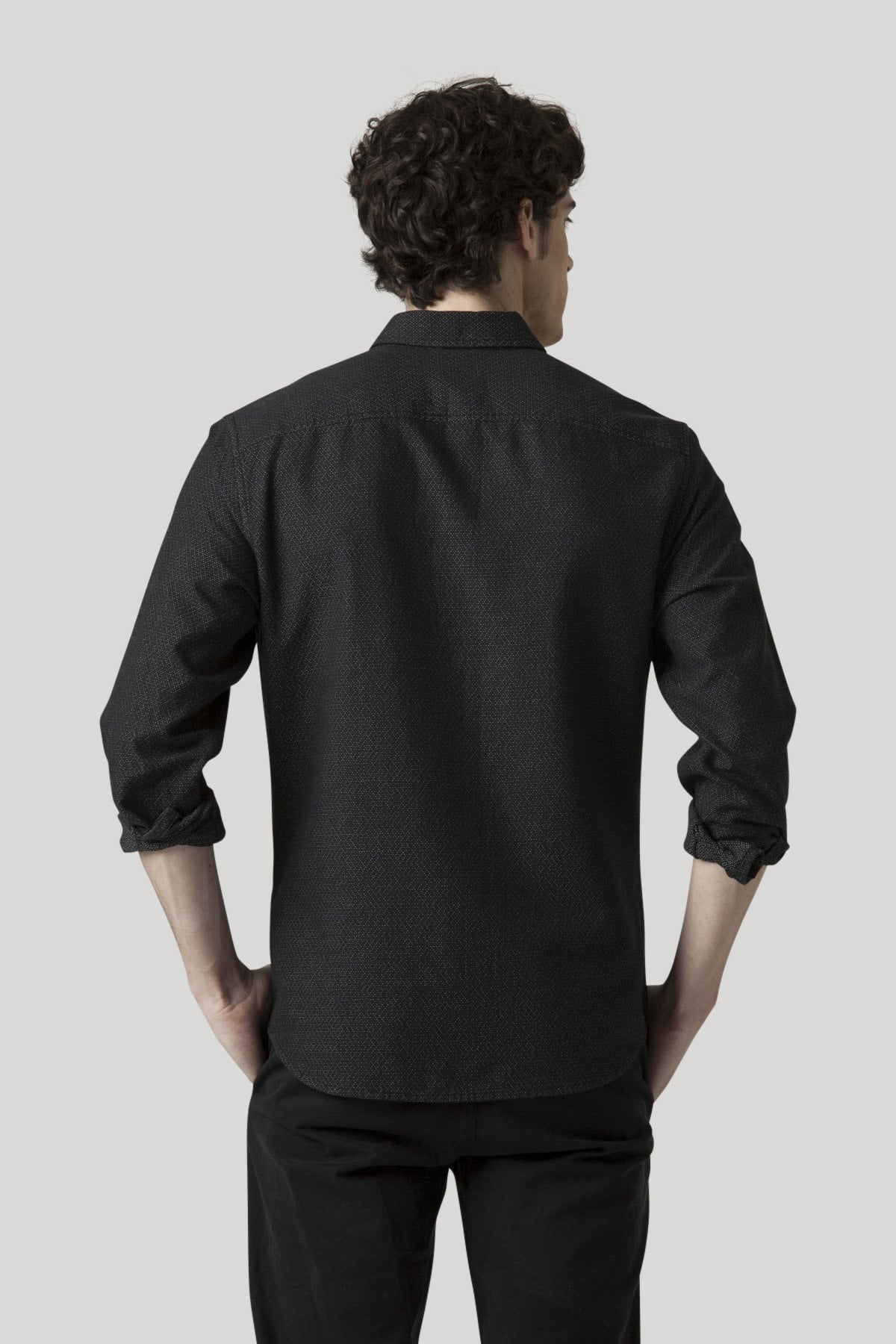 Flurry Shirt - Jet Black