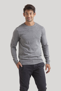 Football Tee - Medium Grey