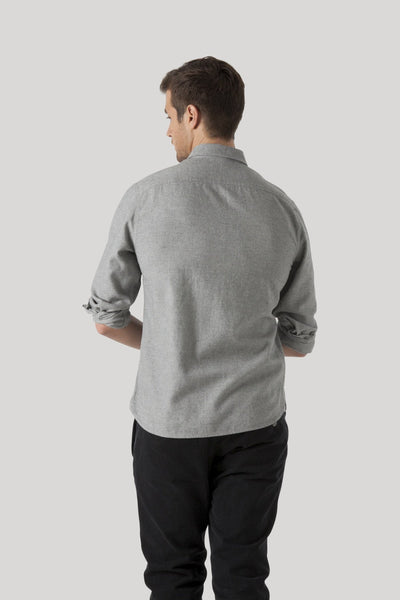 Greenpoint Shirt - Heather Grey