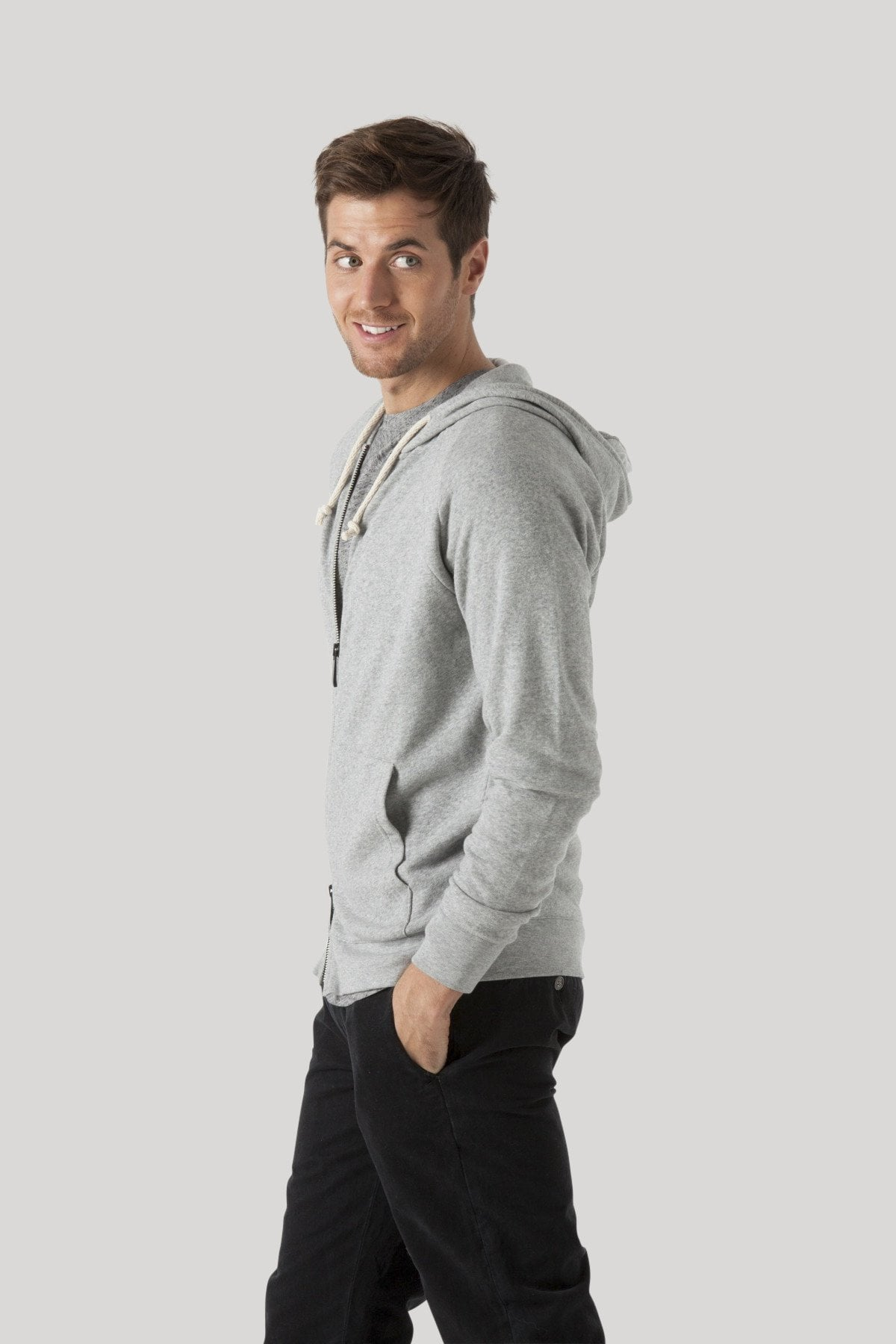Herald Hoodie - Heather Grey