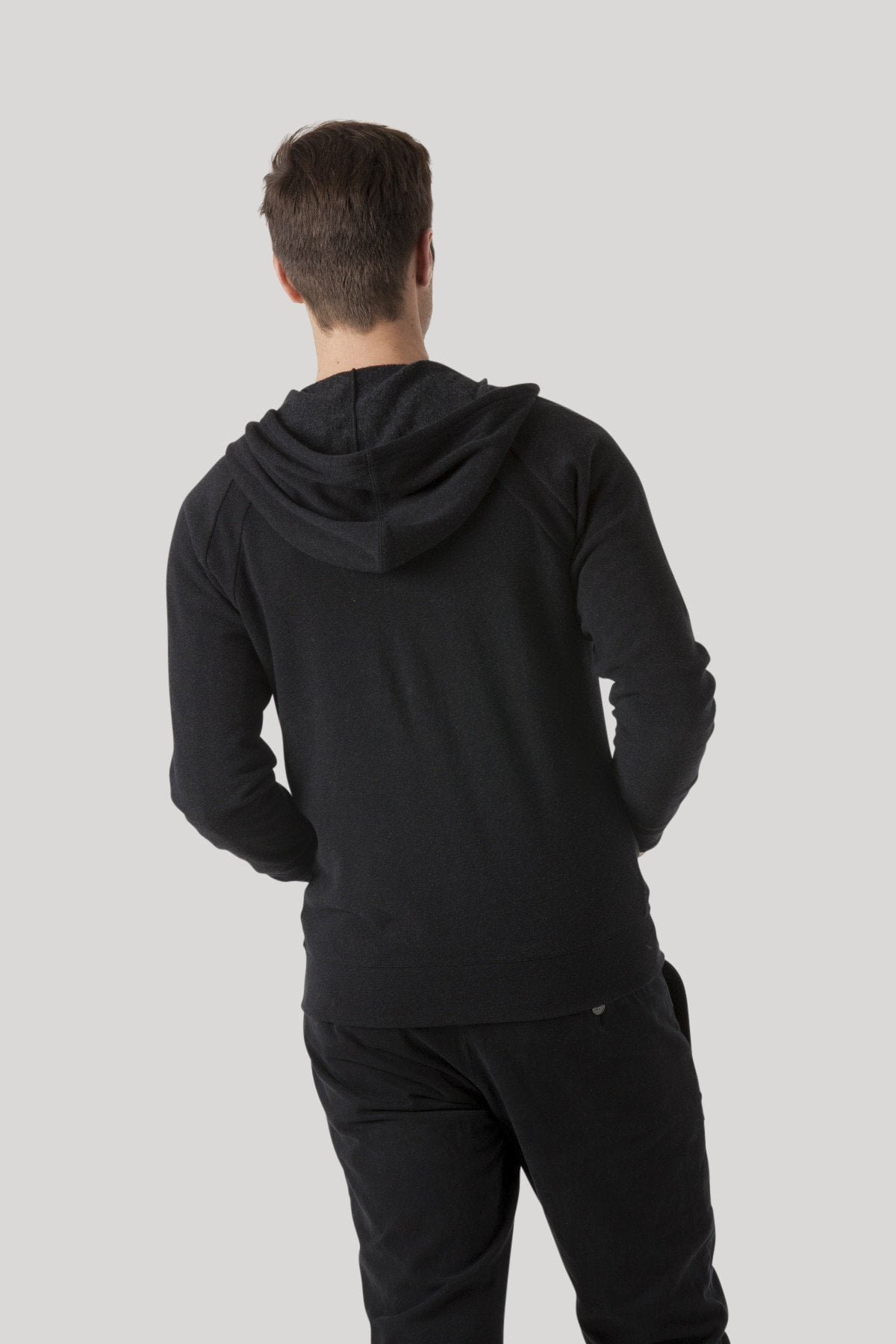 Herald Hoodie - Heather Jet Black
