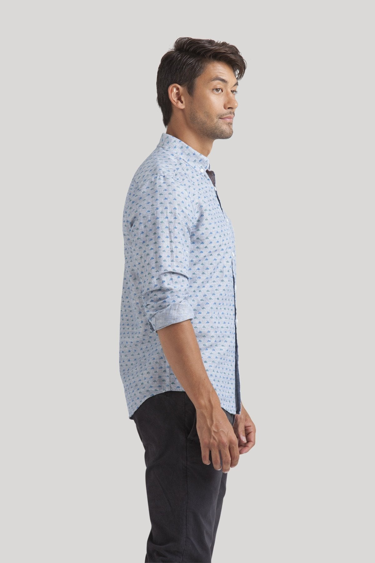 Koi Shirt - Imperial Blue