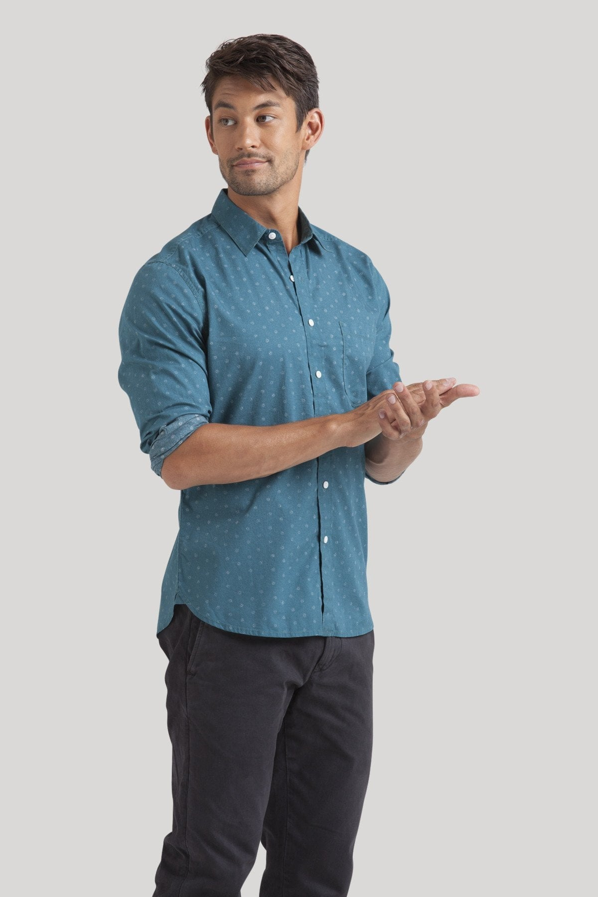 Kyoto Shirt - Teal