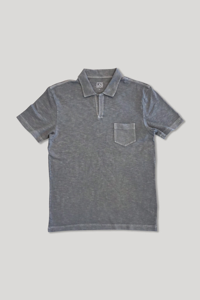Short Sleeve Marco Polo - Medium Grey
