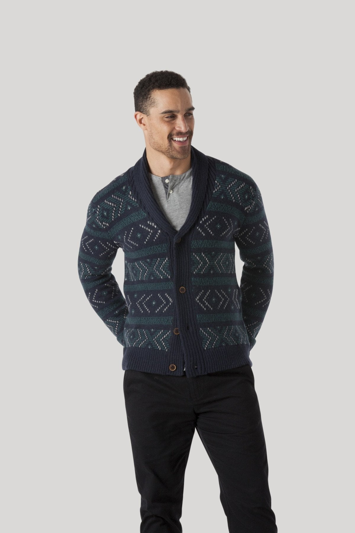 Native Cardigan - NYPD Blue