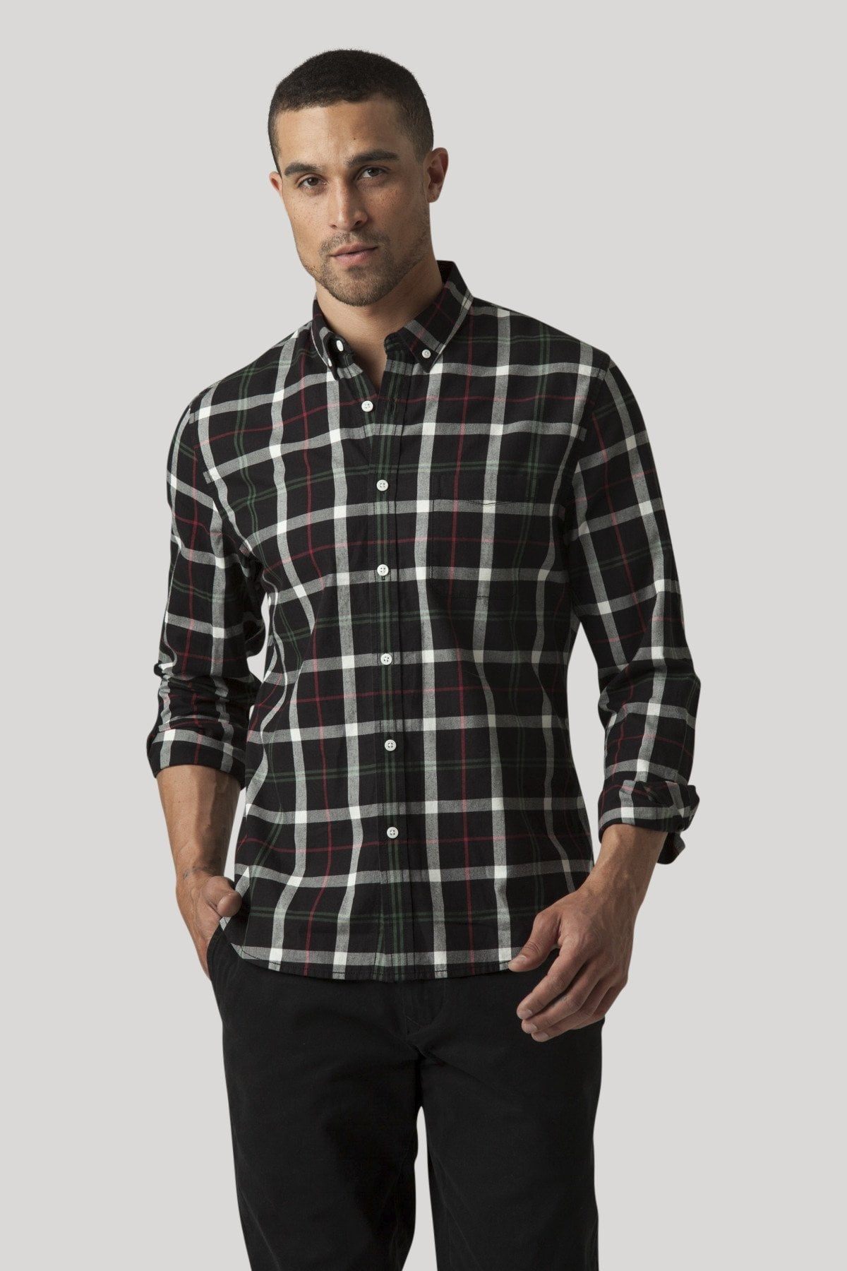 Tinsel Shirt - Jet Black