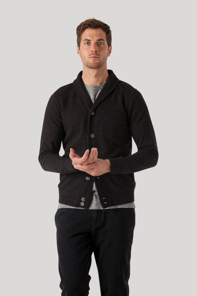 Cannes Cardigan - Jet Black