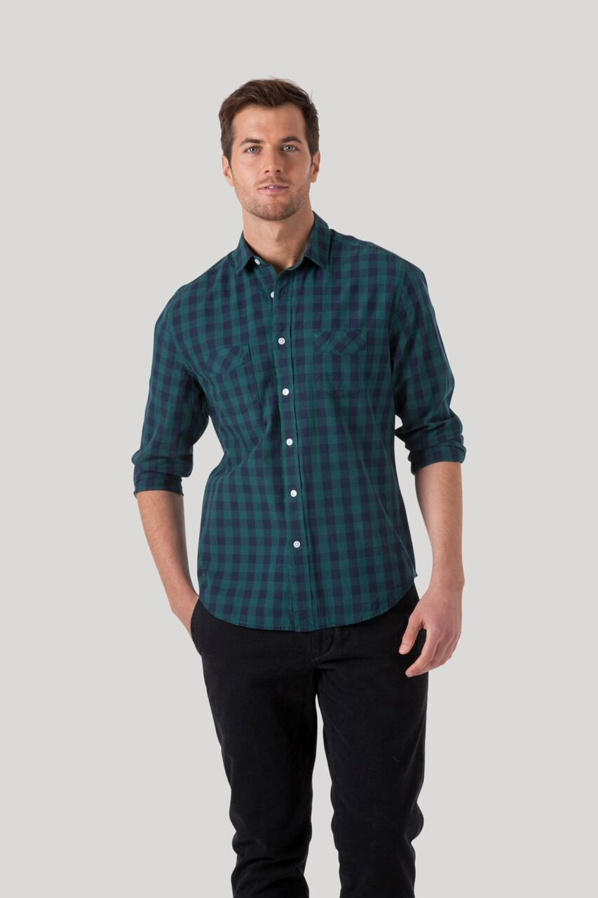 Buffalo Shirt - Greene