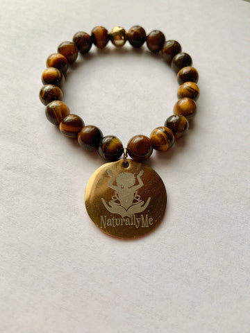 Naturally Me Tiger Eye Stone Bracelet
