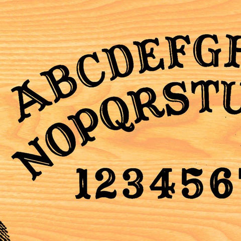 Antique Ouija Board Sleeved Skater Dress