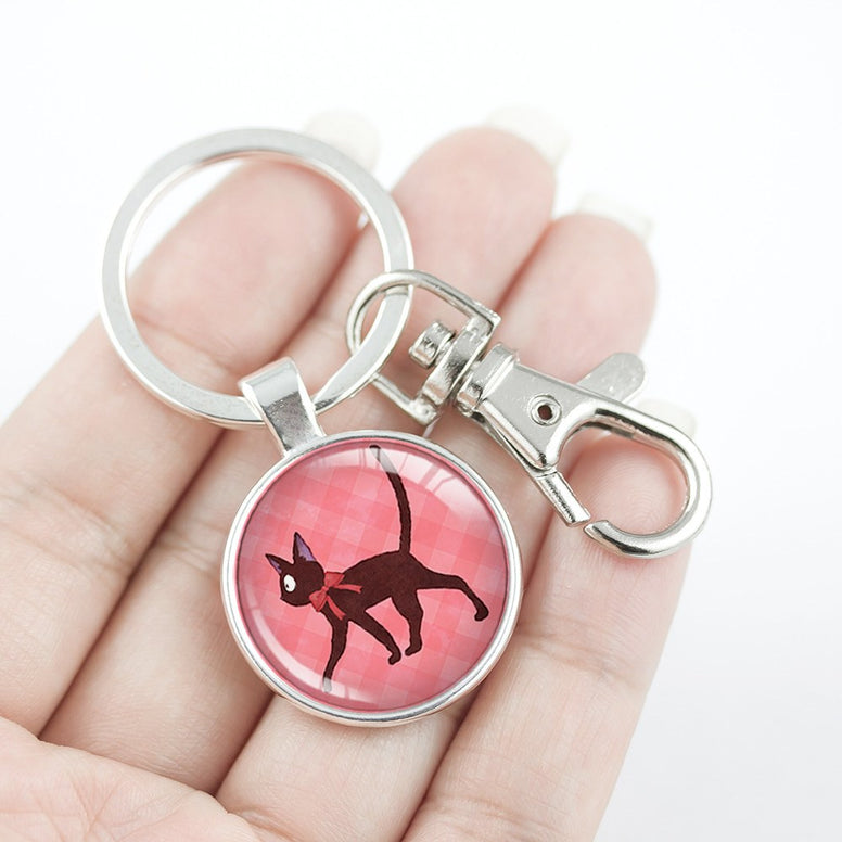 Ghibli Kiki and Jiji Key Chain
