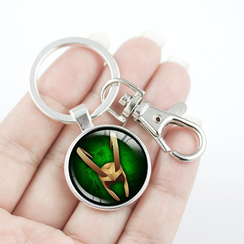Loki God of Mischief Key Chain