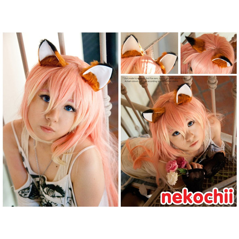 Kitsunemimi fox style cosplay kitty ears