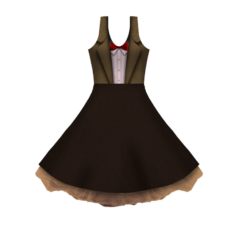 The 11th Cosplay Sleeveless Skater Dress