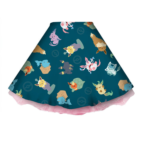 Eeveeatsume Teal Skirt