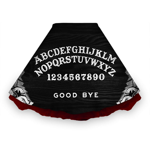 Black Ouija Board Skirt