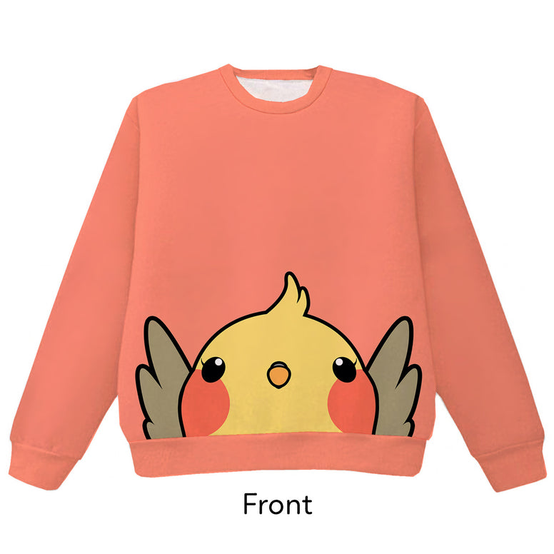 Cockatiel Pounce Pullover Sweater