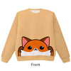Fox Pounce Pullover Sweater