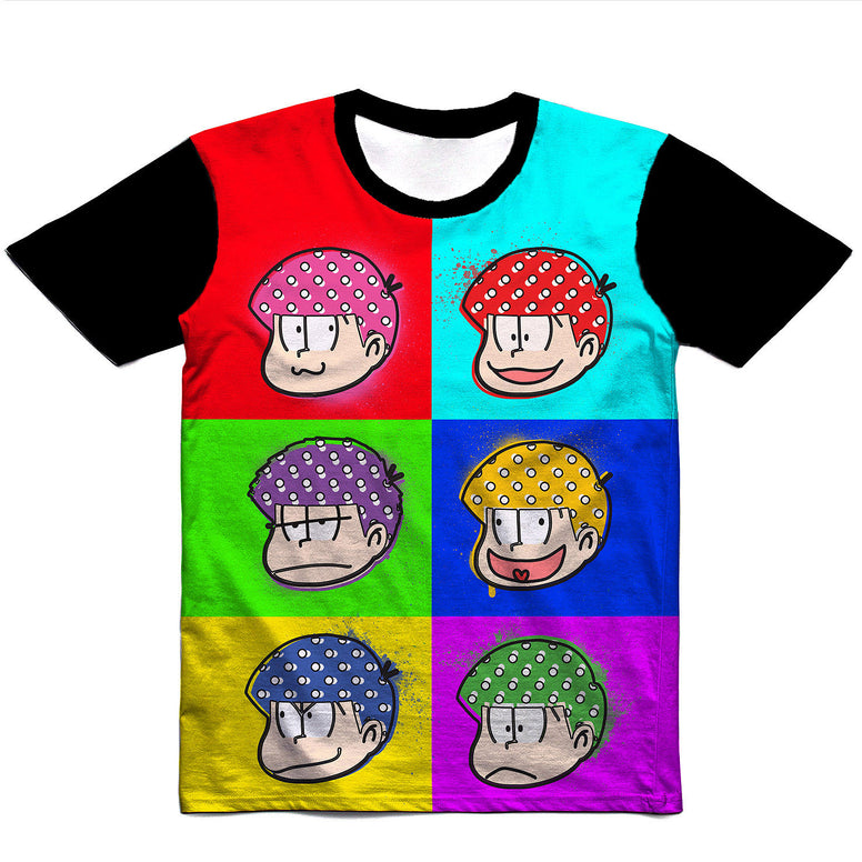 Six Same Faces Unisex Tee