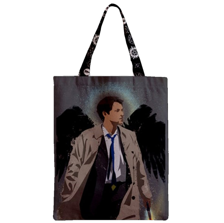 Demon hunters and Angel Zipper Tote