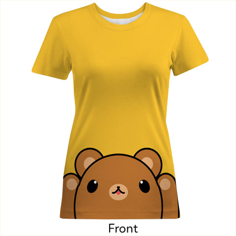 Brown Bear Women's Cotton Tee