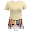 Calico Cat Women's Cotton Tee