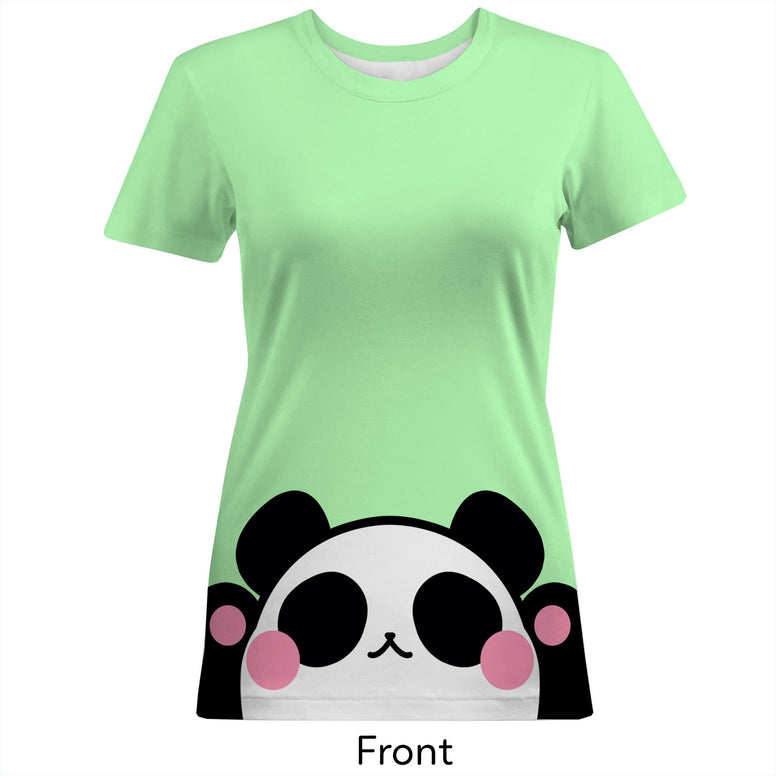 Panda Women's Cotton Tee