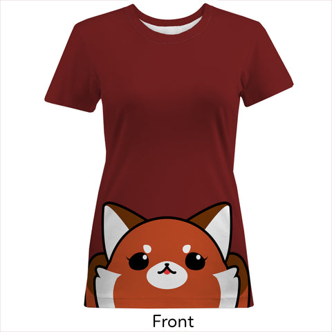 Red Panda Women's Cotton Tee