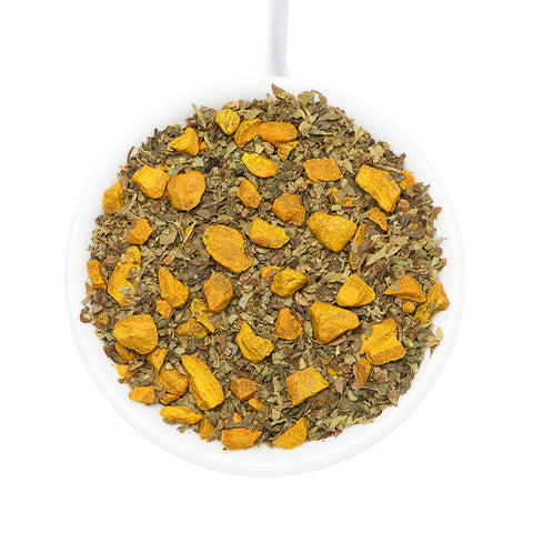 Turmeric Tulsi Herbal Tea Tisane [3.5 oz]